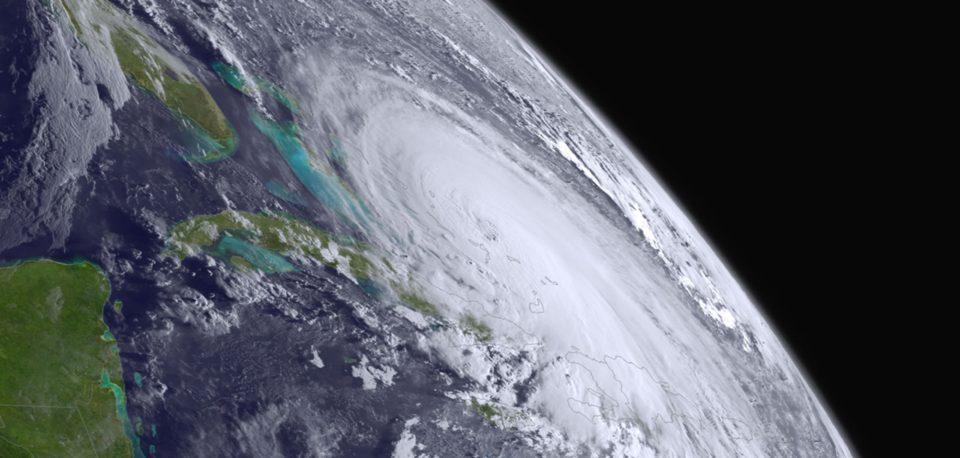 Hurricane over Florida, Caribbean and Carribean